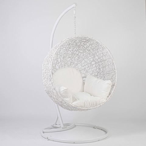 Fauteuil rotin naturel - fauteuil suspendu en rotin - fauteuil NEST