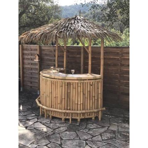 Bar bambou - Bar paillote - bar en bambou - bar bambou NUSA