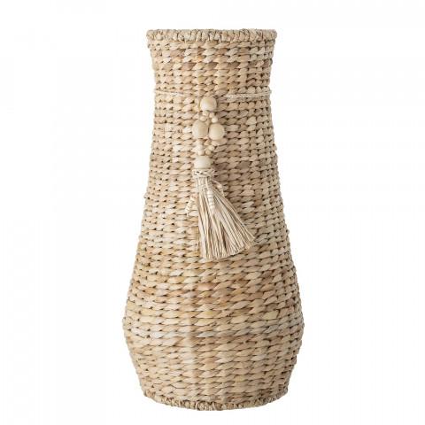 Vase en jacinthe d'eau...