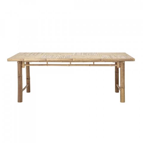 Table en bambou bloomingville