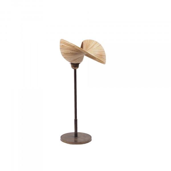 Lampe sur pied et lampe en bambou - lampe à poser - lampe design en bambou -