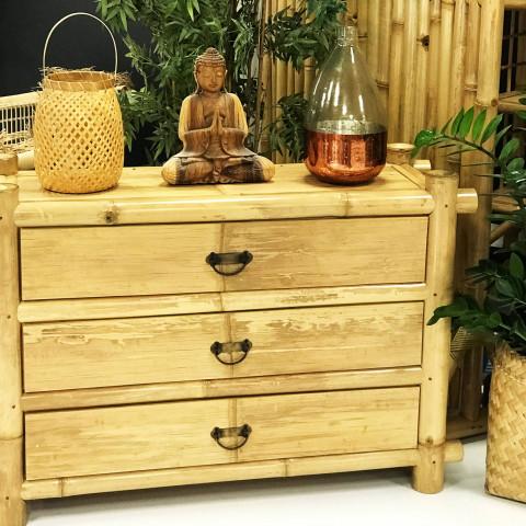 lanterne en bambou - décoration naturelle - phosphore
