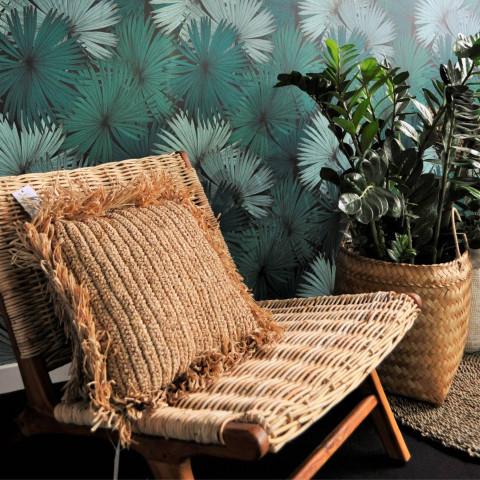 fauteuil rotin - ffauteuil en rotin tressé - fauteuil salon