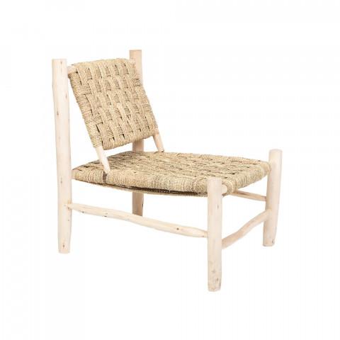 fauteuil salon - fauteuil naturel - fauteuil vintage