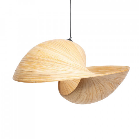 Suspension en bambou design