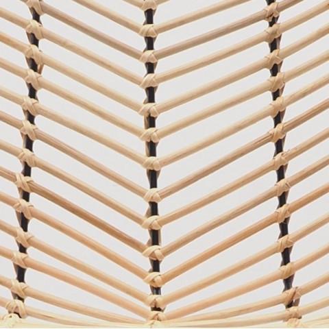 ATI - Tabouret de bar en rotin et métal - HYDILE, marque de déco naturelle