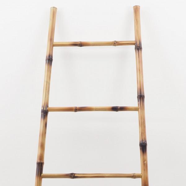 Porte Serviette À Suspendre echelle en bambou ou porte-serviette en bambou décorative à