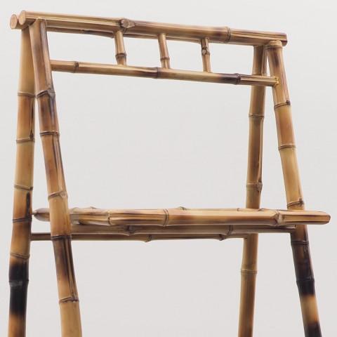 Petite étagère en bambou pliable -  Bambou moucheté pour une déco tendance - Hydile