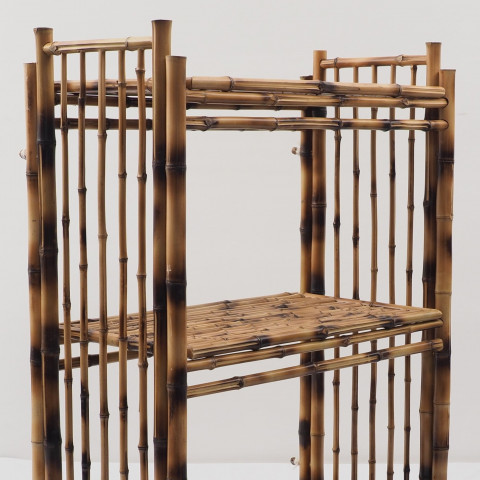 Etagere bambou - Commode bambou - Rangement bambou - Meuble en bambou - mobilier bambou - Hydîle