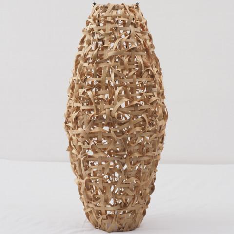 Suspension ou lustre en bambou tressé - de chez HYDILE à prix très doux