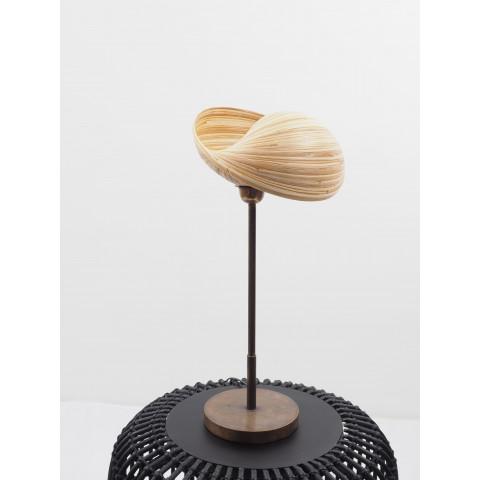 Lampe à poser et luminaire en bambou - Déco Hydile