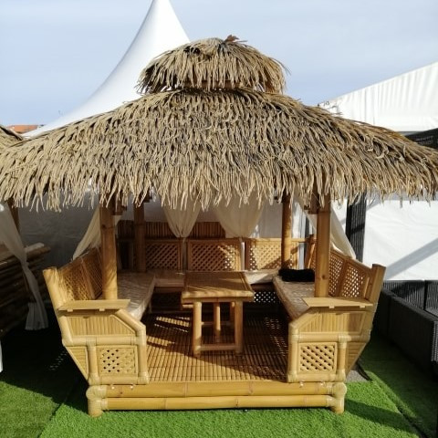 bar ext rieur bar paillote et bar en bambou hydile. Black Bedroom Furniture Sets. Home Design Ideas