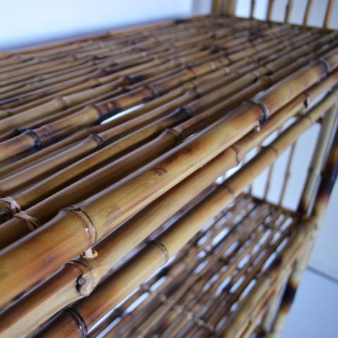 Etagere bambou - Commode bambou - Rangement bambou - Meuble en bambou - mobilier bambou - Hydile - Hydîle