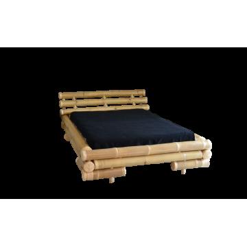Lit en bambou avec dimensions standard -lit bambou naturel - lit bambou qualité - hydile