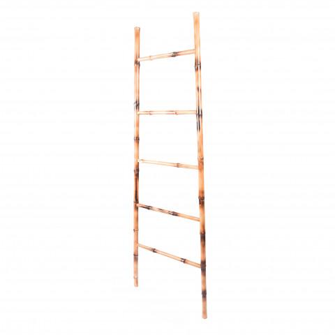 Echelle en bambou - porte serviette bambou - echelle bambou pas cher - echelle deco bambou - Hydile
