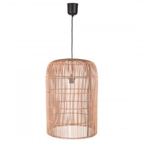 Suspension rotin - Lampe rotin - luminaire rotin naturel - rotin deco - hydile - lampe à suspendre rotin - lustre rotin