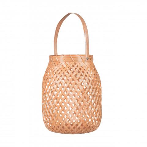 photophore bambou - sweet lanterne bambou - deco bambou - objet deco - lanterne bambou - Hydile