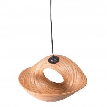 lustre bambou - lampe à suspendre bambou - objet deco bambou - suspension design - Hydile