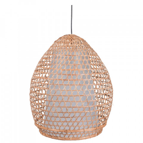 Suspension bambou - lampe bambou - lampe d'extérieur - suspension bambou extérieur - luminaire bambou - deco outdoor - Hydile