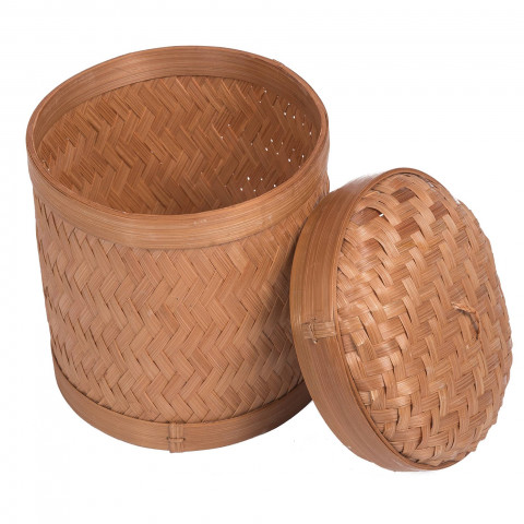 Corbeille bambou : petite corbeille en bambou qui est naturellement élégante et chic. Hydile