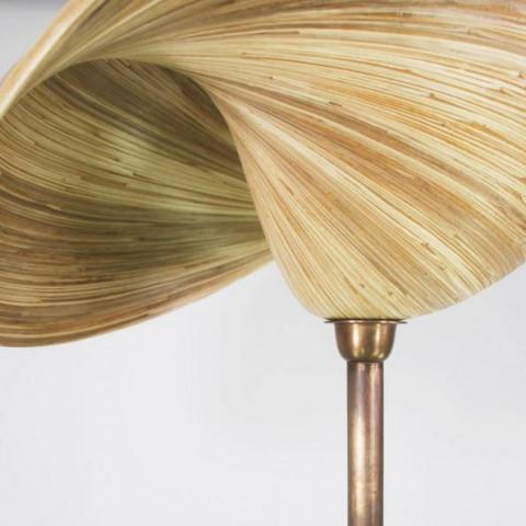 Lampe bambou - lampe à poser bambou - Hydile