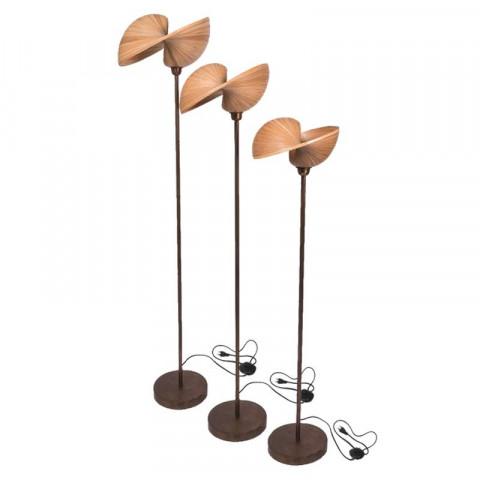 Luminaire bambou - lampe sol - luminaire design - luminaire tendances - lampe design - designer - Hydile