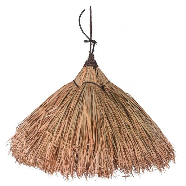 Luminaire en feuille de palmier - Lampe exotique - Abat-jour exotique - suspension en fibre naturelle - hydile
