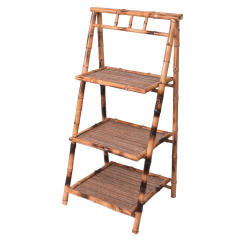 Etagère bambou - meuble bambou - Petite étagère - rangement bambou - commode bambou - Hydile