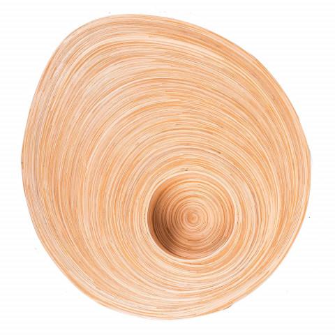 Cadeau à offrir un plateau en bambou - objet de décoration - tendances exotique- plateau bambou - petite table bambou - Hydile