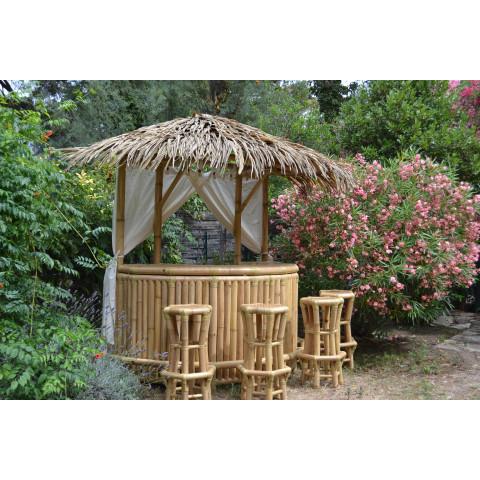 Bar en bambou Nusa pour votre jardin