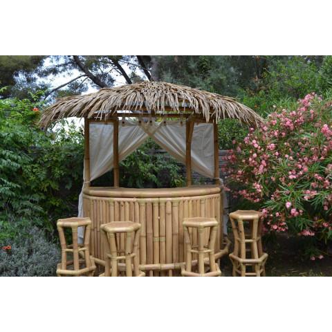 Bar paillote en bambou pour votre extérieur