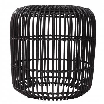 Table basse rotin noir - table basse design - table basse deco -table basse teck- Hydile