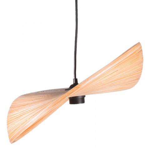 Suspension en bambou naturel - suspension pour cuisine - suspension élégante et design
