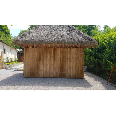 Panneau bambou - barrière bambou - bar bambou - cloture bambou - brise vue bambou