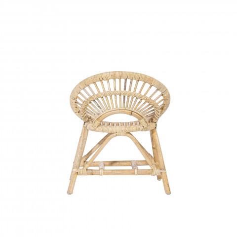 Fauteuil rotin - chaise enfant rotin - fauteuil pour enfant rotin chambre - COSY