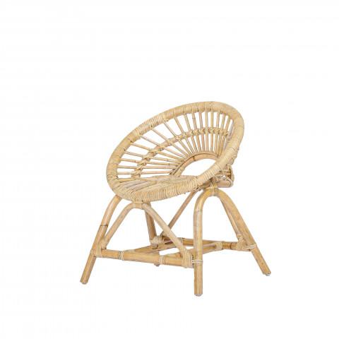 Fauteuil en rotin - fauteuil rond enfant- fauteuil rond enfant -chaise enfant rotin