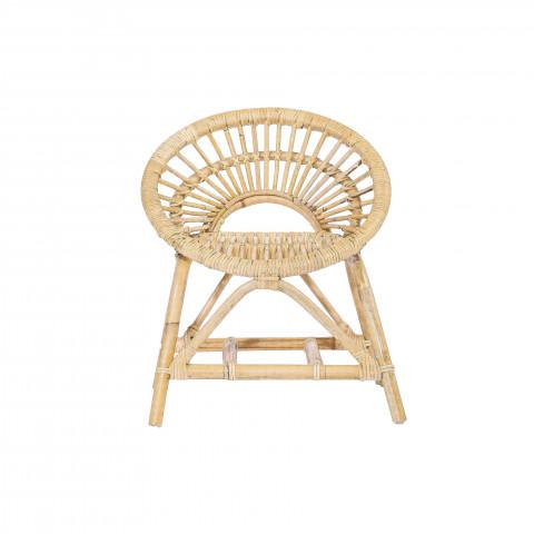 Fauteuil en rotin - Fauteuil en rotin COSY - Petit fauteuil rotin - chaise enfant