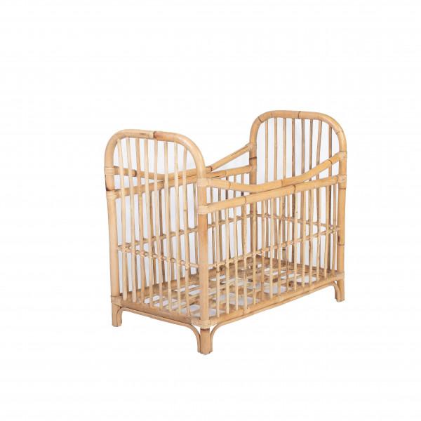Berceau rotin - lit rotin - petit lit rotin - lit rotin enfant - berceau rotin - mobilier rotin enfant
