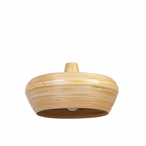 Suspension en bambou - Suspension en bambou ANOUCK - Luminaire design en bambou - Lustre en bambou