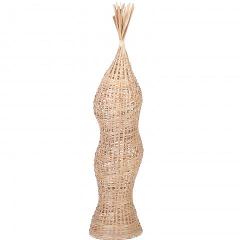 Objet de décoration en bambou - sculpture en bambou - objet de déco  - objet à poser en bambou - pièce unique et design