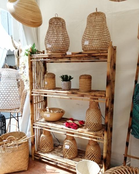 Etagère bambou