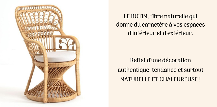 Rotin decoration et mobilier